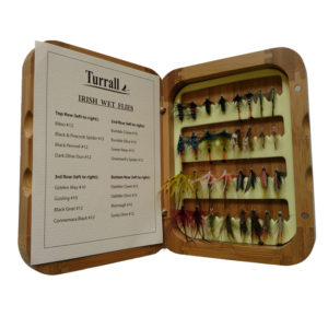 BAMBOO FISHING FLY SELECTION - IRISH WET FLIES-0