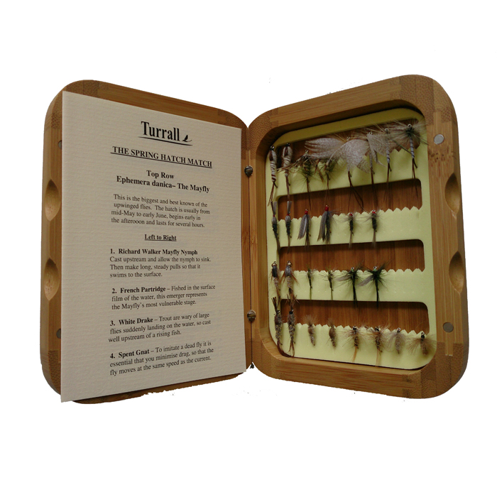 Bamboo Fishing Fly Selection – Spring Hatch Match-0