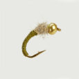 CADDIS WORM OLIVE-0