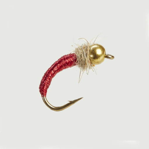 CADDIS WORM RED-0