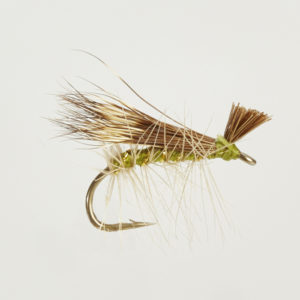 CADDIS (SEDGE)-ELK HAIR OLIVE-0