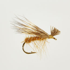 CADDIS (SEDGE)-ELK HAIR HI-VIS TAN-0