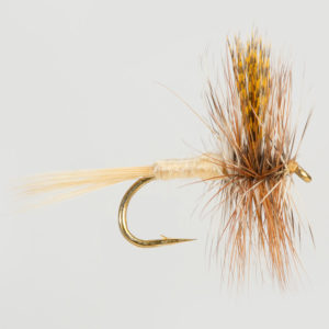 DRY WINGED-MARCH BROWN AMERICAN-0