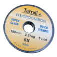 TURRALL FLUOROCARBON FLY FISHING TIPPET MATERIAL-0