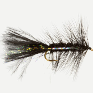 WOOLLY BUGGER-BLACK-0