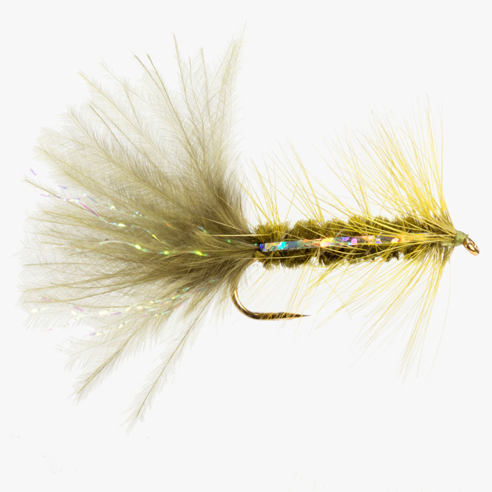 WOOLLY BUGGER-OLIVE-0