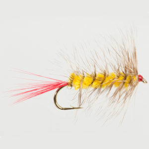 WOOLLY WORM-YELLOW-0