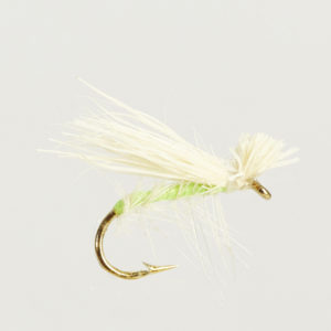 ELK HAIR-GREEN/WHITE-0