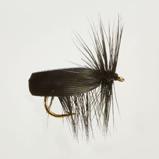 CADDIS (SEDGE) BLACK-0